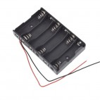 6xR6-AA Batteries Holder