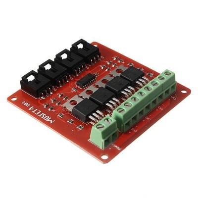 4 kanalų MOSFET modulis