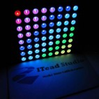 RGB LED Matrix (60mm 8*8)
