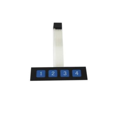 Membraninė klaviatūra (4 mygtukų)