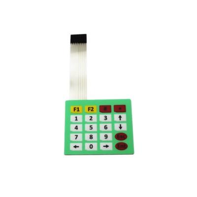 Membraninė klaviatūra (4x5 mygtukų)