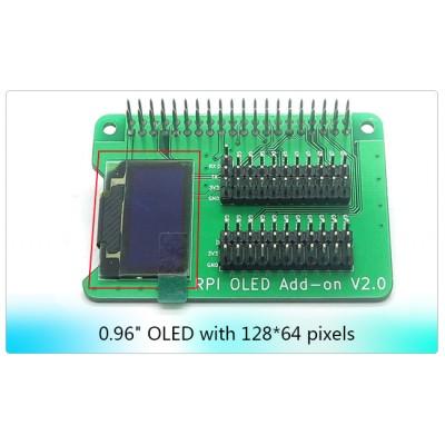 Raspberry Pi OLED screen shield