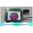 Raspberry PI 2.8'' TFT LCD ekrano priedėlis