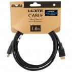 HDMI kabelis (Klasė 1.4, Ilgis: 1,8m)
