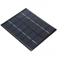Plikristalinė saulės panelė (6V, 2W)