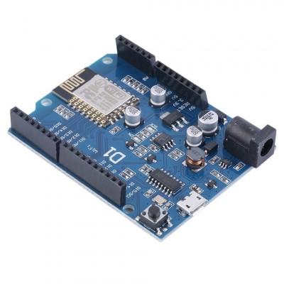 WeMos Arduino WiFi valdiklis