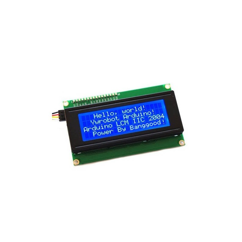 20x4 Character LCD display I2C For Arduino - Tx lt