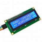16x2  simbolių LCD ekranas su (I2C)