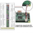 Raspberry PI 2/3 korpusas su aušintuvu (permatoma)