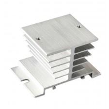 SSR relių radiatorius (25A vienos fazės)