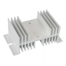 Aluminum Heatsink for SSR relay (10-60A)