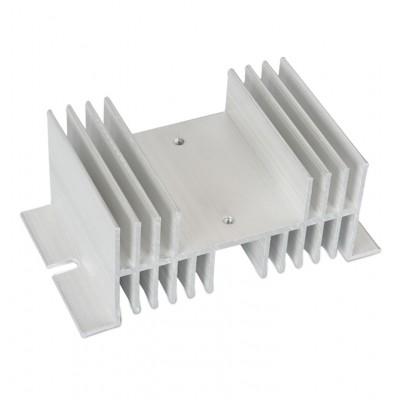 SSR relių radiatorius (10A-60A vienos fazės)
