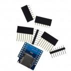 WeMos D1 mini microSD kortelės priedėlis