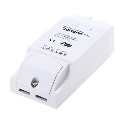 WiFi relė su temperatūros/drėgmės stebėjimu,16A (Sonoff TH16)
