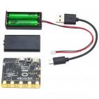Micro:Bit valdiklis su baterijų laikikliu
