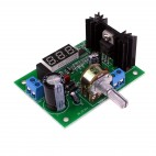 DC/DC, AC/DC step-down module with LED display (LM317, 1.25V - 28V)