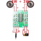 Skaitmeninis audio stiprintuvas PAM8403 (2x3W)