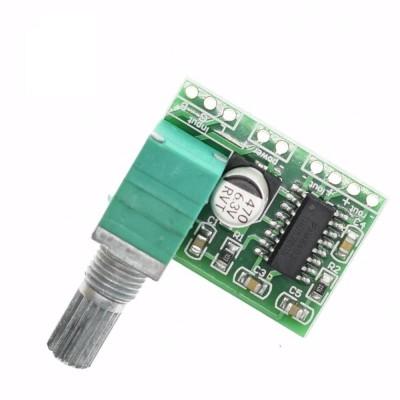 Skaitmeninis audio stiprintuvas PAM8403 (2x3W, su potenciometru)