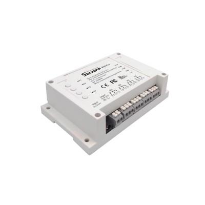 WiFi 4 relių blokas su 433 RF ir DIN montavimu (Sonoff 4CH PRO)