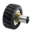 Guminis ratas (43x19mm)