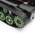 Vikšrinė roboto važiuoklė (300x150x76mm)