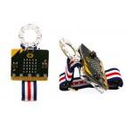 Micro:Bit Elektroninio laikrodžio rinkinys (be mikrovaldiklio)