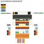 Sensor:bit išėjimų praplėtimo plokštė
