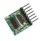 TX118SA-4, 433Mhz RF siūstuvas (kodavimas EV1527, 4 kanalai)