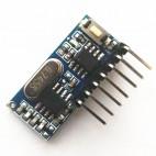 RX480E-4, 433Mhz RF imtuvas (kodavimas EV1527, 4 kanalai)