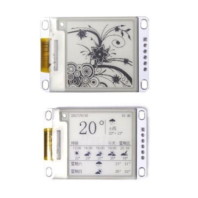 1.54 colio e. rašalo (E-ink) ekrano modulis (SPI Z10)