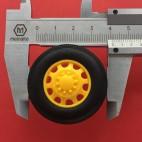 Ratas (išgaubtas į išorę) (42mm x 11.5mm)