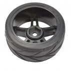 Minkštos gumos ratas (63mmx24mm) (T10)