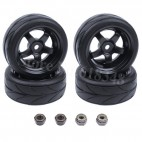 Soft rubber wheel (63mmx24mm)