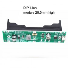 18650 ličio baterijos pakrovėjo, sistemos maitinimo, UPS modulis (Step-Up, 5V)