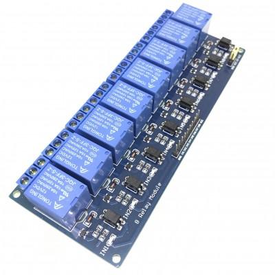 8 kanalų 12V rėlių modulis
