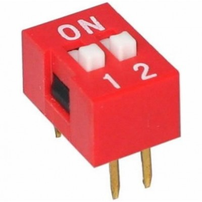 Šliaužiklinis jungiklis 2 kontaktų