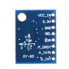 9 DOF IMU jutiklio modulis (gyroskopas, akselerometras ir magnetometras)