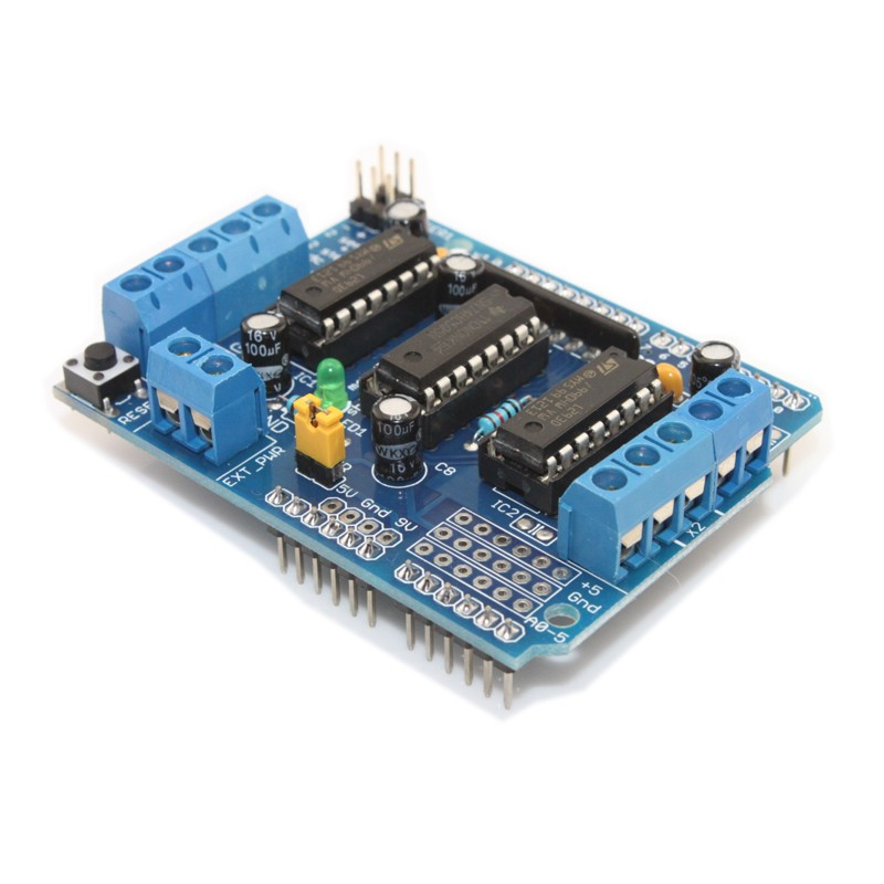 Motor stepper servo shield for Arduino servo motor shield