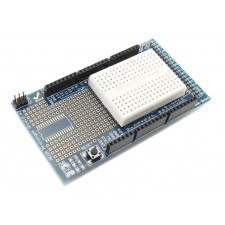 Prototype Shield with Mini Breadboard for Arduino Mega
