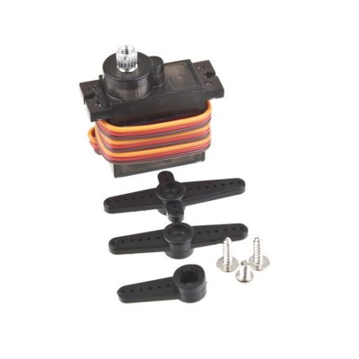 Tower Pro MG90S 14G Mini servo mechanizmas metaliniais dantračiais