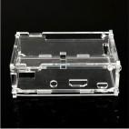 Plastikinis permatomas korpusas Raspberry Pi B+