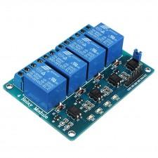 4 kanalų 5V rėlių modulis