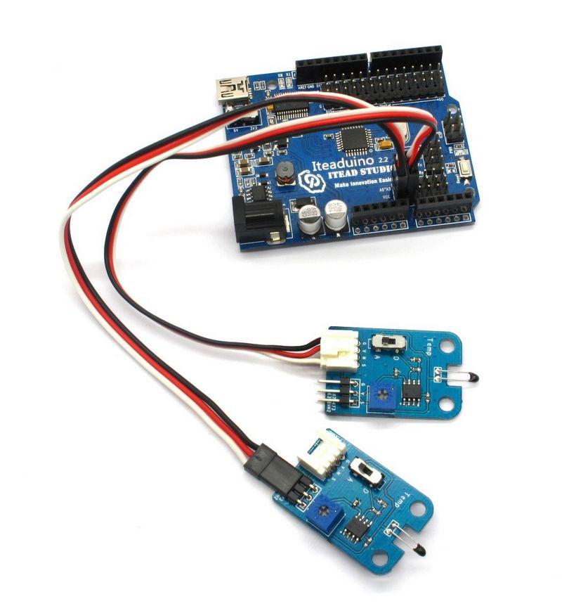 Temperatūros modulis - Electronic Brick