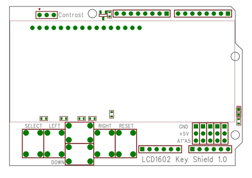 LCD 1602 PCB Arduino