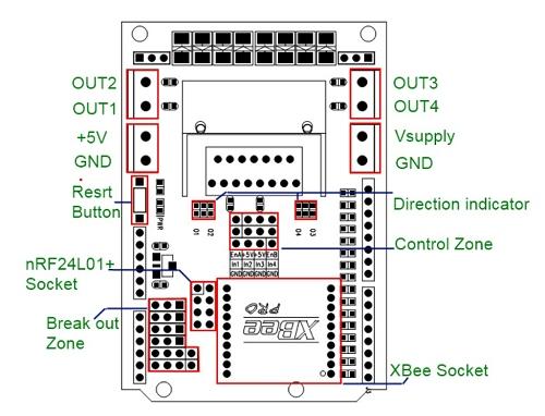 L298 Arduino PCB