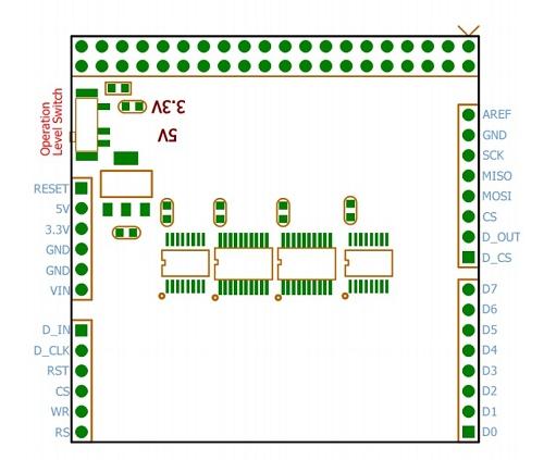PCB LCD TFT